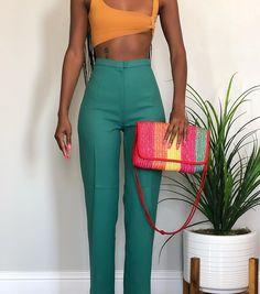 Stylish Outfits, Fashion Outfits, Womens Fashion, Estilo Retro, Mode Streetwear, Black Girl Fashion, Cute Summer Outfits, Fashion Killa, Passion For Fashion