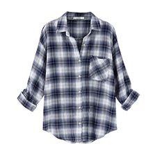 Indigo plaid classic shirt - Archer?