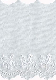 4 Off White with White Embroidery Eyelet Lace Trim Eyelet Lace, Lace Trim, White Embroidery, Long Sweaters, Off White, Elite Socks, Discount Price, Cruise