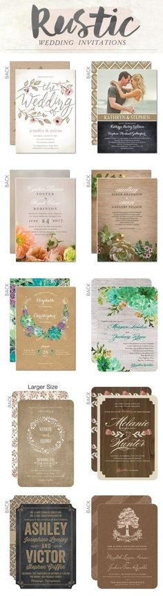 Rustic country wedding invitations / rustic wedding ideas / country wedding ideas #ad
