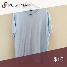 Men's Ralph Lauren Tee Men's Light Blue Ralph Lauren Tee Ralph Lauren Shirts Tees - Short Sleeve