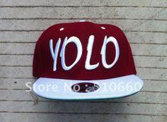 "20pcs/lot ""You Only Live Once"" YOLO Baseball Snapbacks Hats New Style on AliExpress.com. $119.00"