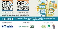 Taking forward #PrecisionAg in #India - Join Geospatial Media Trimble Agriculture at #GeoSmartIndia