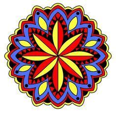 Znalezione obrazy dla zapytania vintage mandala coloring book