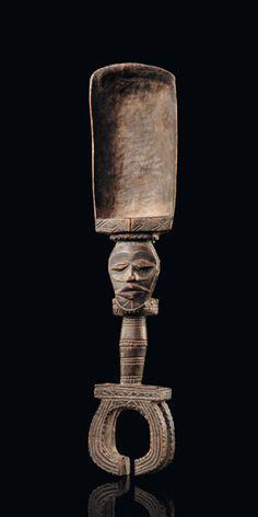 Ceremonial Spoon, Wobe, Ivory Coast