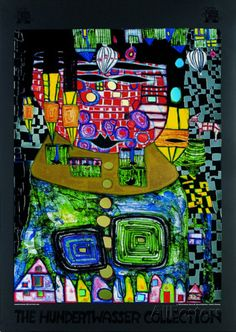 Antipode King Posters by Friedensreich Hundertwasser at AllPosters.com