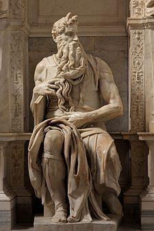Il Mosè di Michelangelo Buonarroti (1513-1516), basilica di San Pietro in Vincoli, Roma