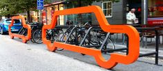 Our Car Bike Ports pull up in Finland - Cyclehoop