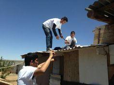 Instalando litros de luz desde Chihuahua - México