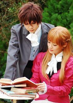 Heero and Relena from Gundam Wing