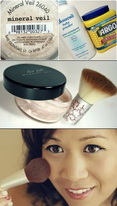 DIY: Bare Minerals Mineral Veil..might have to keep this in mind