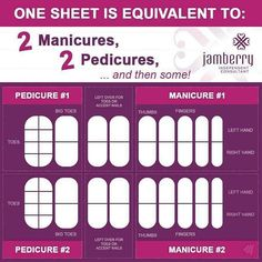 #Jamberry really does offer great #value - look how much you get in just one sheet! https://nailsbynuala.jamberry.com/uk