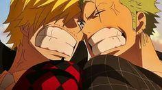 Sanji and zoro