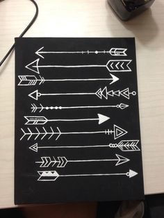 Arrows canvas DIY ❤️