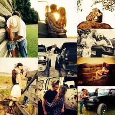Cute country couple pics