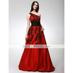 red wedding dress to die for