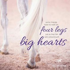 Some friends have to walk on four legs just so they can carry around such big hearts