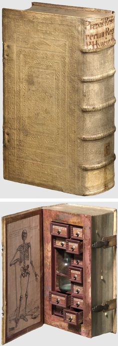 """Known as a """"poison cabinet"""" this 16th-century book was turned into a secret hideaway forpoisonous and medicinal plants."""