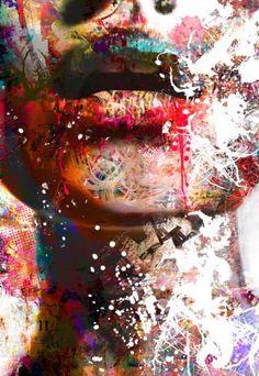"""Saatchi Art Artist yossi kotler; Painting, """"speechless"""" #art"""