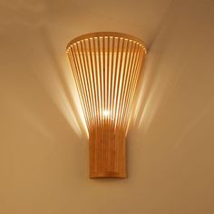 Details about Bamboo Wicker Rattan Shade Wall Lamp Fixture Asian Sconce Lamp Bedroom Hallway - New Deko Sites Cottage Lighting, Living Room Lighting, Wall Sconce Lighting, Wall Sconces, Wall Lamps, Rustic Wall Lighting, Hanging Lamps, Desk Lamp, Rattan