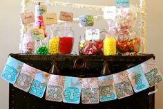 This around the world party is ridiculous.  So creative!