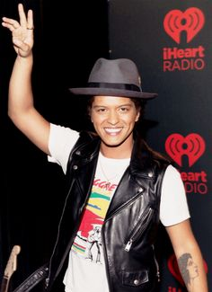Bruno Mars, uber talented, quite the performer, really love his music.