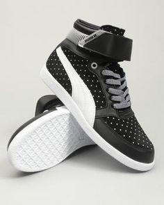 Puma Skylaa Hi Polka Dot Womens Sneakers