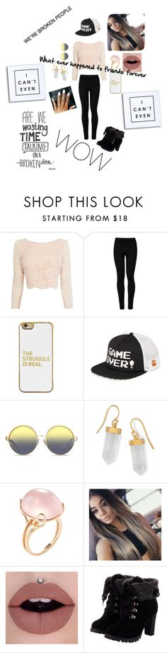 """""""When you've been replaced"""" by pinklovebooks on Polyvore featuring Coast, Wolford, BaubleBar, Vans, Matthew Williamson, BillyTheTree and Goshwara"""