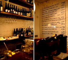 Ducksoup, Soho. Very cool little bar. Great menu, hipster vibe... in a good way.  Want to go!