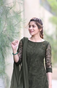 """What the f**k are you doing""he said while stroming inside the room. Simple Kurta Designs, Stylish Dress Designs, Kurta Designs Women, Designs For Dresses, Dress Neck Designs, Salwar Designs, Stylish Dresses, Fashion Dresses, Pakistani Dresses Casual"