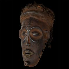 Rare Chihongo Mask - CHOKWE - Lualaba,  D.R Congo African Masks, African Art, Eye For Detail, Tribal Art, Congo, Auction, Chips, Statue, Vintage