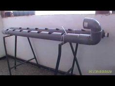 Como hacer un sistema hidropónico casero - YouTube