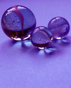 Glass Marbles ~I don't  know why but I love marbles. One of the good memories of my childhood....