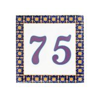Square Designs » Exotic Ceramic Tiles Designs Plaque Design, Family Name Signs, Portuguese Tiles, House Numbers, Tile Design, Lululemon Logo, Wedding Gifts, Exotic, Kids Rugs