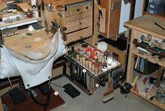 John de Rosier's Bench setup