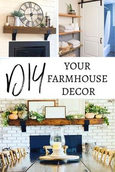 These quality handcrafted home decor items and farmhouse hardware will give you the cozy farmhouse style you want for any room in your house. Get that Farmhouse DIY Project done quickly and easily before the holidays! DIY, Modern Farmhouse, Farmhouse living room, farmhouse bathroom, wall decor, home decor ideas, diy home decor, industrial farmhouse, farmhouse kitchen, mantle ideas, diy mantle, floating shelves, shelving ideas