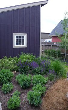 Cover Street Residence - contemporary - landscape - other metro - Design 5, LLC Navy Gray and white.  Inspiration for lot #42