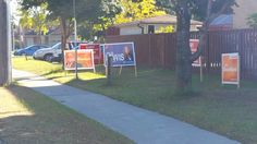 PAN AM Center Area:  So much clutter in this one area.  Environment is in the way of the Liberal sign, NDP is in front of another Liberal sign.  And the environment is cutting off lots of information from all 3 parties.  Not the best area to be posting your candidacy.  #SMH, #BluesGetAClue, #OrangeCrush, #TheHuntForRedOctober #elxn42