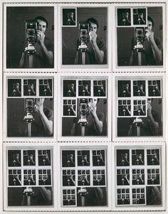 William Anastasi / Nine Polaroid Portraits of a Mirror / 1967 / The Metropolitan Museum of Art