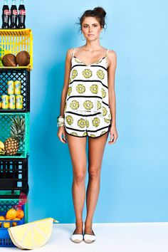 Pineapple Short by Chip Chop Cami, Pineapple, Chips, Coconuts, Summer Dresses, My Style, Womens Fashion, Feels, Tropical