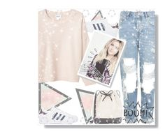 """""""She Looks So Perfect"""" by xcuteniallx ❤ liked on Polyvore featuring Topshop, adidas, Monki, Mansur Gavriel, Music Notes and Old Navy"""
