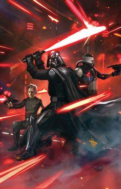 Darth Vader - Dave Wilkins #nerdheaven