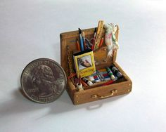 Marquis Miniatures amigurami art supplies. Oh I love this! I think I need a new collection.