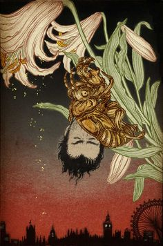 "Yuko Shimizu | The Unwritten Apocalypse #1 ....The last segment of DC Comics Vertigo series ""The Unwritten"", published as The Unwritten Apocalypse #1. cover illustration. March 2014 issue"