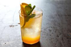 Orange Ginger Mint Sodas, a recipe on Food52