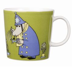 With the Arabia Moomin Inspector Coffee Mug, you can enjoy your morning cup of joe. capacity so you can fill up with enough coffee or any of your favorite beverages to keep you hydrated throughout the day. Moomin Mugs, Tove Jansson, Finland, Coffee Mugs, Police, Charms, The Incredibles, Tableware, Classic