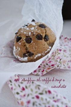 Mon petit bistrot: Muffin al caffè d'orzo e cioccolato