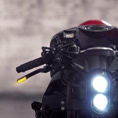 Cafe Racer Pasión — Honda CBR Cafe Racer Kit by Huge Moto |...