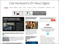 What a perfect promotional merger. Cole Hardware® sees itself as the ultimate source for Do-It-Yourself, and Social Media outreach is often… Qr Codes, Visual Merchandising, Science And Technology, Close Up, Acting, Hardware, Retail, Social Media, Entertaining