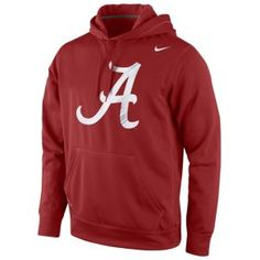 hot sale online 264c3 a56c2 Nike College Warp Logo Performance Hoodie - Alabama Crimson Tide Alabama  Crimson Tide, Nike Men